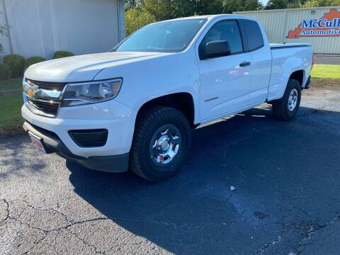 2019 Chevrolet Colorado for sale at McCully's Automotive in Benton KY