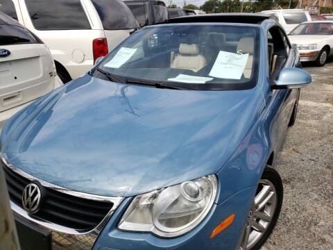 2008 Volkswagen Eos for sale at Jimmys Auto INC in Washington DC