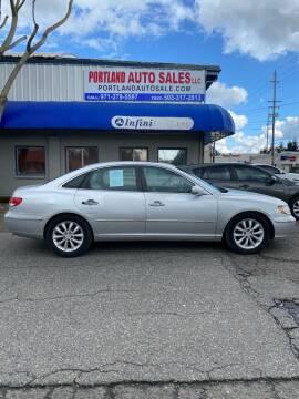 2007 Hyundai Azera for sale at PORTLAND AUTO SALES LLC. in Portland OR