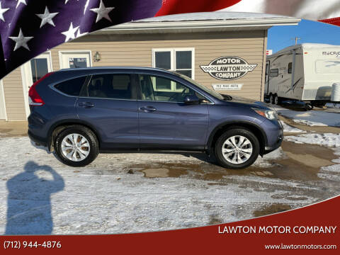 2012 Honda CR-V for sale at Lawton Motor Company in Lawton IA