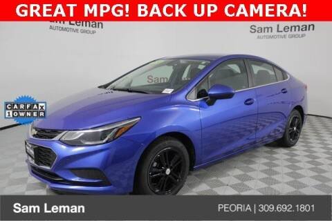 2018 Chevrolet Cruze for sale at Sam Leman Chrysler Jeep Dodge of Peoria in Peoria IL