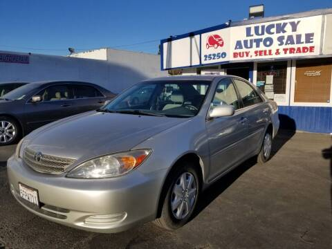 2004 Toyota Camry for sale at Lucky Auto Sale in Hayward CA
