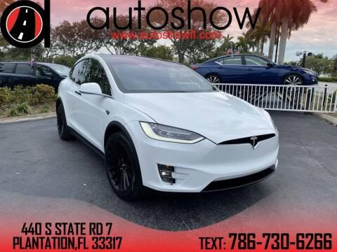2016 Tesla Model X for sale at AUTOSHOW SALES & SERVICE in Plantation FL