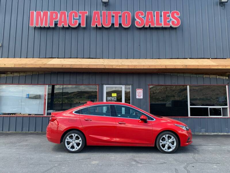 2018 Chevrolet Cruze for sale at Impact Auto Sales in Wenatchee WA