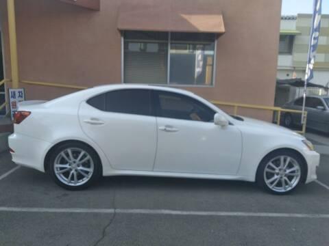 2006 Lexus IS 250 for sale at Western Motors Inc in Los Angeles CA