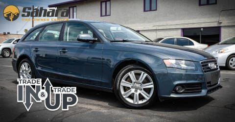 2011 Audi A4 for sale at Sahara Pre-Owned Center in Phoenix AZ