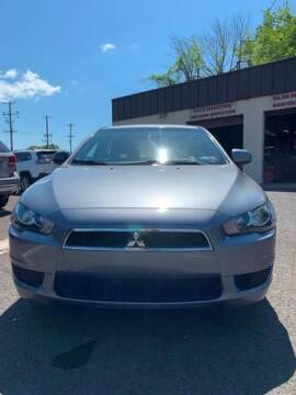 2014 Mitsubishi Lancer for sale at Luxury Unlimited Auto Sales Inc. in Trevose PA