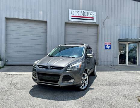 2013 Ford Escape for sale at CTN MOTORS in Houston TX