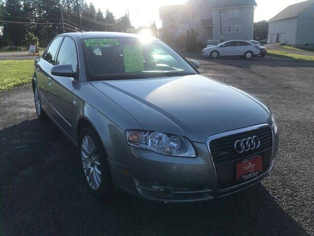 2008 Audi A4 for sale at FUSION AUTO SALES in Spencerport NY