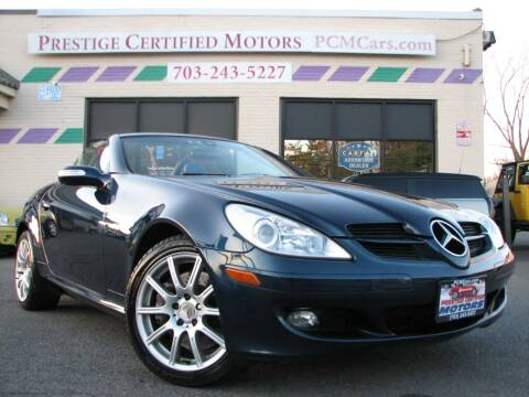 2005 Mercedes-Benz SLK for sale at Prestige Certified Motors in Falls Church VA