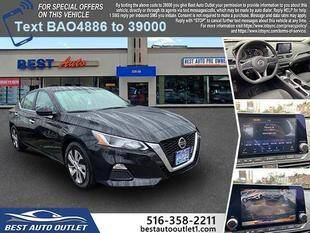 2019 Nissan Altima for sale at Best Auto Outlet in Floral Park NY