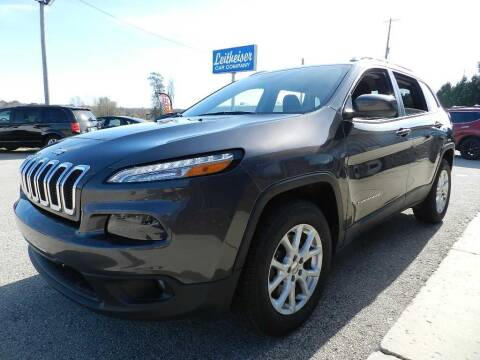 2016 Jeep Cherokee for sale at Leitheiser Car Company in West Bend WI