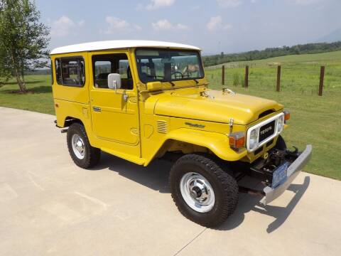 1980 Toyota FJ Land Cruiser for sale at Johns Auto Sales in Tunnel Hill GA