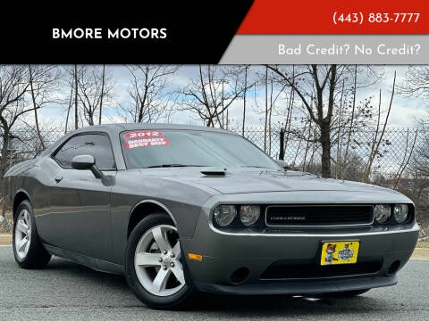 2012 Dodge Challenger for sale at Bmore Motors in Baltimore MD