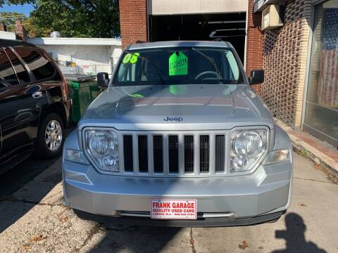 2008 Jeep Liberty for sale at Frank's Garage in Linden NJ