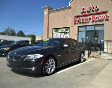 2012 BMW 5 Series for sale at Auto Market in Oklahoma City OK
