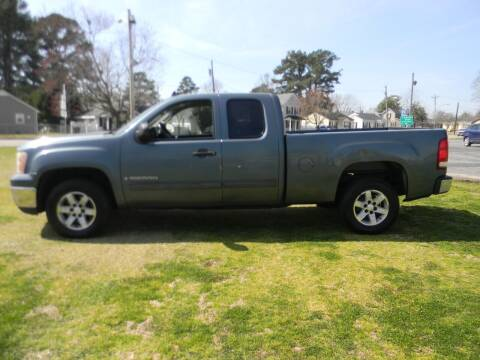 2009 GMC Sierra 1500 for sale at SeaCrest Sales, LLC in Elizabeth City NC