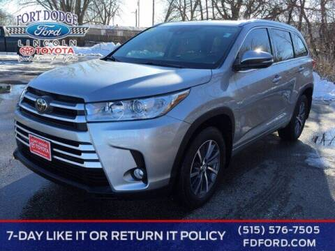 2017 Toyota Highlander for sale at Fort Dodge Ford Lincoln Toyota in Fort Dodge IA