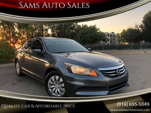 2012 Honda Accord for sale at Sams Auto Sales in North Highlands CA