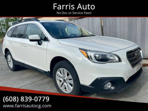 2016 Subaru Outback for sale at Farris Auto - Main Street in Stoughton WI