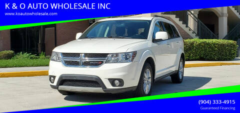 2014 Dodge Journey for sale at K & O AUTO WHOLESALE INC in Jacksonville FL