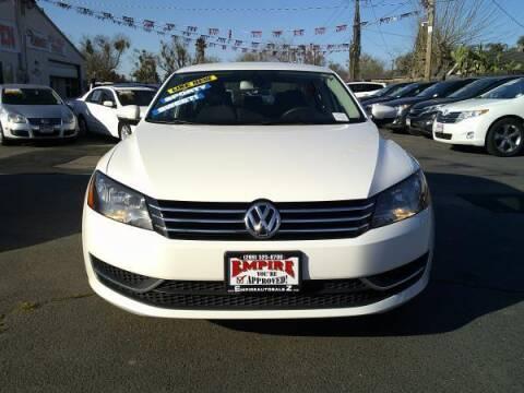 2014 Volkswagen Passat for sale at Empire Auto Sales in Modesto CA