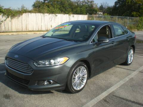 2015 Ford Fusion for sale at 611 CAR CONNECTION in Hatboro PA