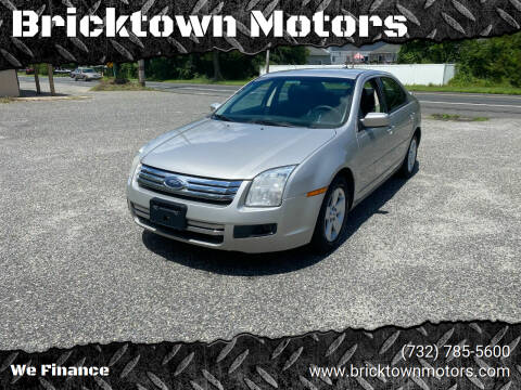 2007 Ford Fusion for sale at Bricktown Motors in Brick NJ