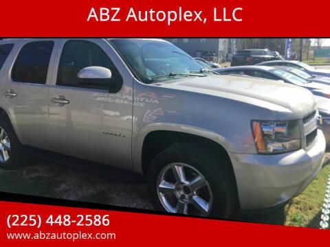 2009 Chevrolet Tahoe for sale at ABZ Autoplex, LLC in Baton Rouge LA