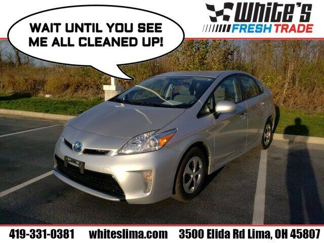 2015 Toyota Prius for sale at White's Honda Toyota of Lima in Lima OH