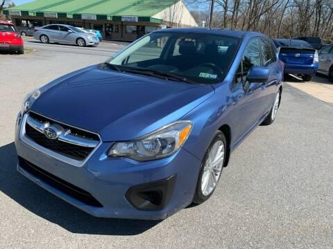 2014 Subaru Impreza for sale at Sam's Auto in Akron PA