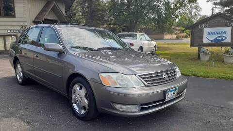 2003 Toyota Avalon for sale at Shores Auto in Lakeland Shores MN