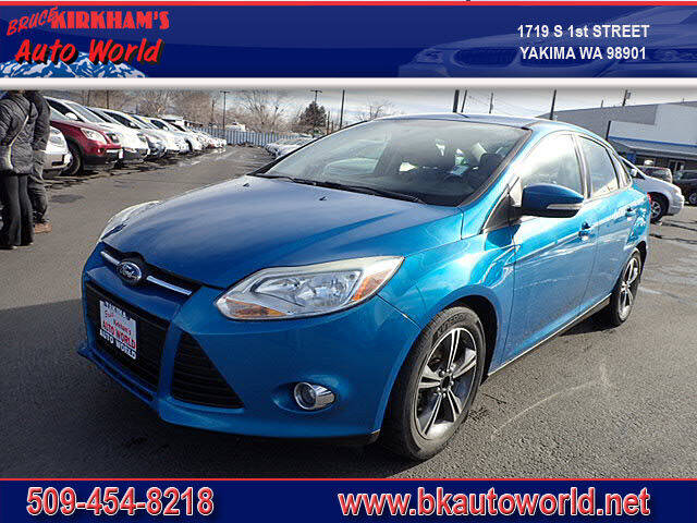 2014 Ford Focus for sale at Bruce Kirkham Auto World in Yakima WA