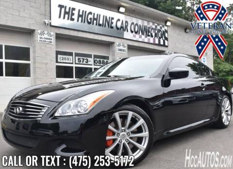 2008 Infiniti G37 for sale at The Highline Car Connection in Waterbury CT