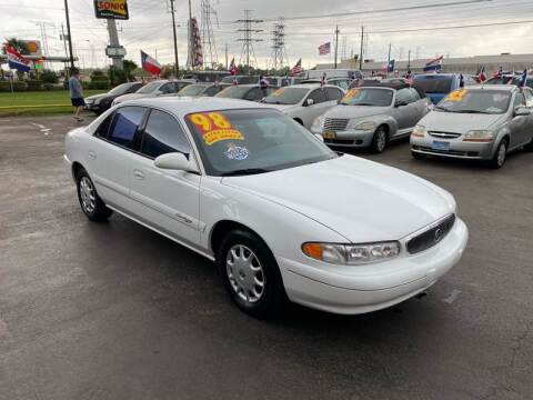 1998 Buick Century for sale at Texas 1 Auto Finance in Kemah TX