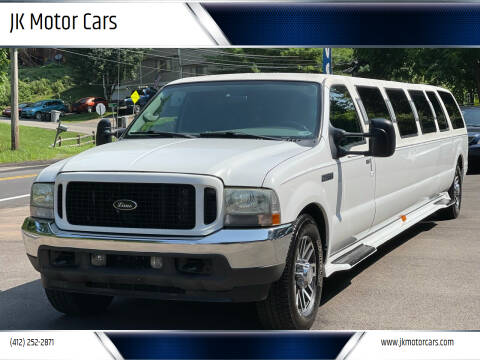 2004 Ford Excursion for sale at JK Motor Cars in Pittsburgh PA