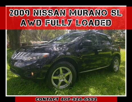 2009 Nissan Murano for sale at AFFORDABLE ONE LLC in Orlando FL