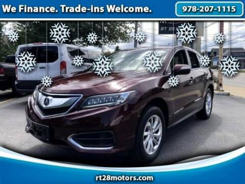 2018 Acura RDX for sale at RT28 Motors in North Reading MA