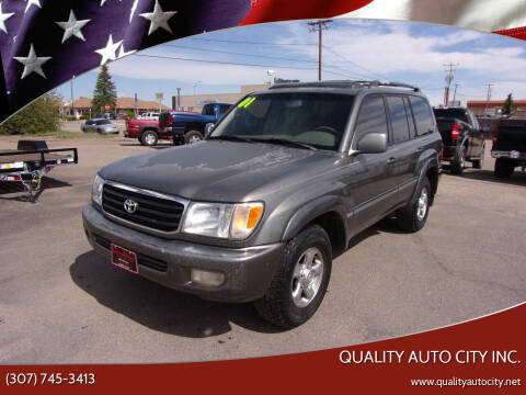 2001 Toyota Land Cruiser for sale at Quality Auto City Inc. in Laramie WY