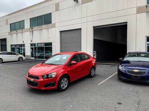 2016 Chevrolet Sonic for sale at Super Bee Auto in Chantilly VA