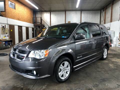 2017 Dodge Grand Caravan for sale at T James Motorsports in Gibsonia PA