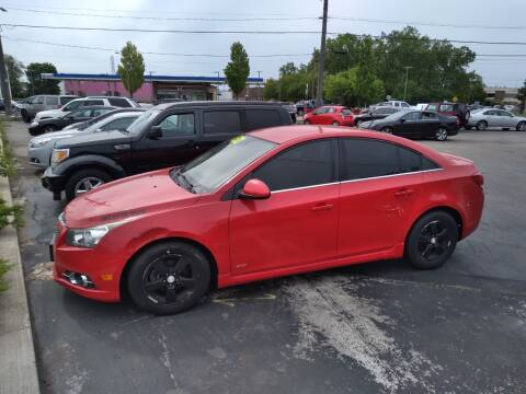 2012 Chevrolet Cruze for sale at D and D All American Financing in Warren MI