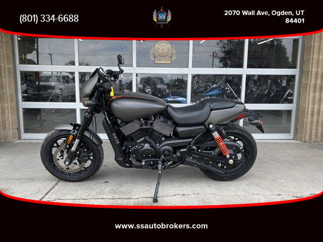 2019 HARLEY DAVIDSON XG750 STREET ROD for sale at S S Auto Brokers in Ogden UT
