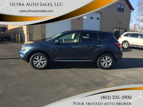 2013 Nissan Murano for sale at Ultra Auto Sales, LLC in Cumberland RI