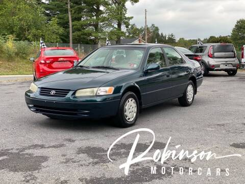 1997 Toyota Camry for sale at Robinson Motorcars in Inwood WV