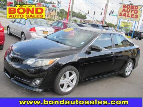 2012 Toyota Camry for sale at Bond Auto Sales in St Petersburg FL