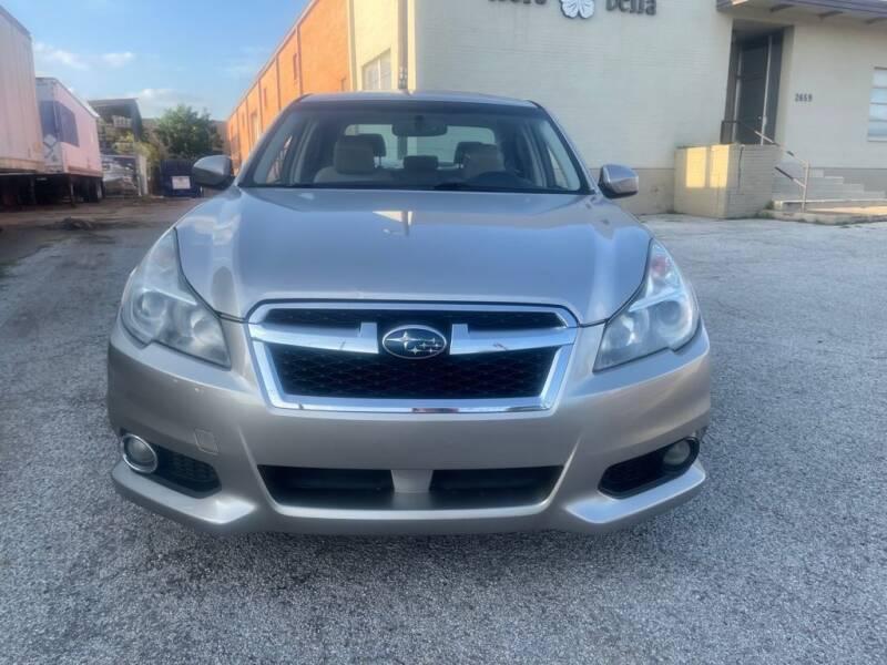 2014 Subaru Legacy for sale at Dynasty Auto in Dallas TX