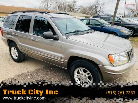 1999 Jeep Grand Cherokee for sale at Truck City Inc in Des Moines IA