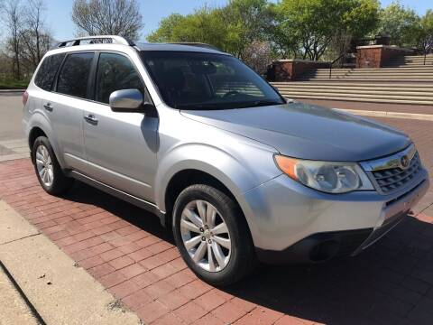 2012 Subaru Forester for sale at Third Avenue Motors Inc. in Carmel IN