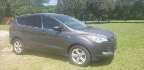 2016 Ford Escape for sale at NOTE CITY AUTO SALES in Oklahoma City OK
